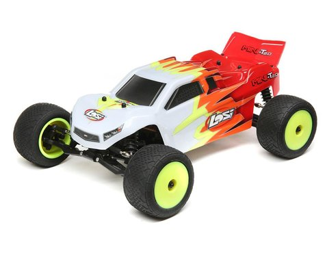 Losi Mini-T 2.0 Brushless 1/18 RTR 2wd Stadium Truck w/2.4GHz Radio, Battery & Charger-Mike's Hobby
