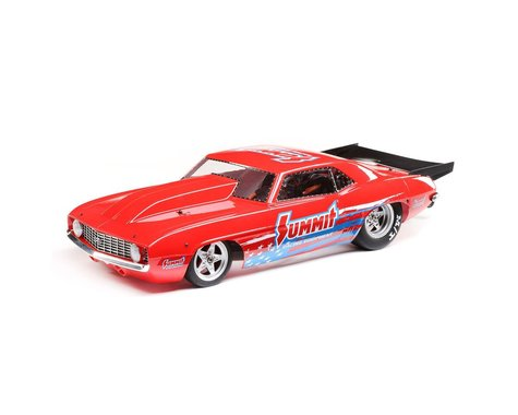 Losi 22S '69 Camaro No Prep 1/10 RTR Brushless Drag Race Car (Summit) w/Spektrum SLT3 2.4GHz Radio (LOS03035T1)-Cars & Trucks-Mike's Hobby