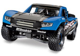 Traxxas Unlimited Desert Racer®: 4WD Electric Race Truck (Blue Method)-Mike's Hobby