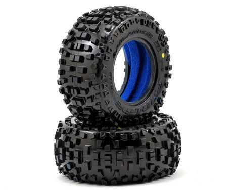 "Pro-Line Badlands 2.0 SC 2.2""/3.0"" Short Course Truck Tires (2)-RC Car Tires and Wheels-Mike's Hobby"