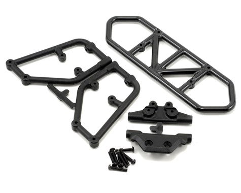 RPM Rear Bumper (Black) (Slash 4x4)-PARTS-Mike's Hobby