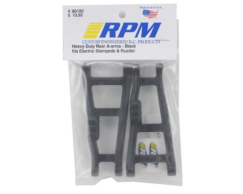 RPM Traxxas Rustler/Stampede Rear A-Arms (Black) (2)-RC CAR PARTS-Mike's Hobby