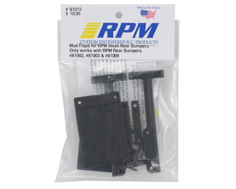 RPM Mud Flaps Traxxas Slash (RPM Bumpers only)-Hop-Up-Mike's Hobby