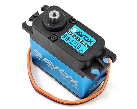 "Savox SW-1210SG ""Tall"" Waterproof Aluminum Case Digital Steel Gear Servo-SERVO-Mike's Hobby"