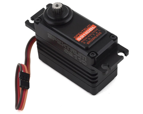 Spektrum RC S9110BL 1/5 Brushless High Speed Metal Gear Servo (High Voltage)-SERVO-Mike's Hobby