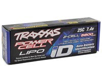 "Traxxas 2S ""Power Cell"" 25C LiPo Battery w/iD Traxxas Connector (7.4V/5800mAh)-BATTERY-Mike's Hobby"