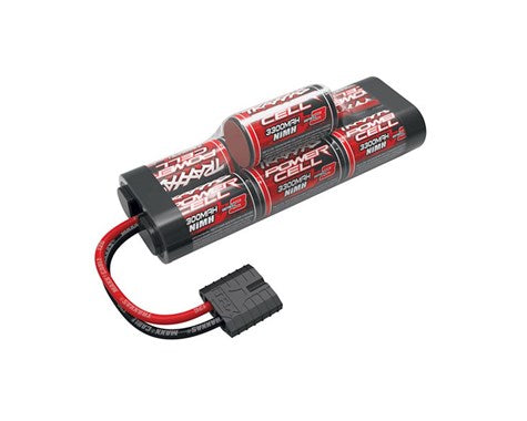 Traxxas 7C Hump 3300mAh NiMH , w/TRA ID-BATTERY-Mike's Hobby