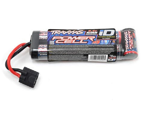 Traxxas Series 4 7-Cell Stick NiMH Battery Pack w/iD Connector (8.4V/4200mAh)-BATTERY-Mike's Hobby