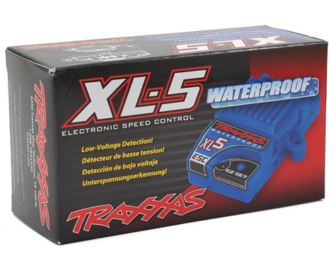 Traxxas XL-5 Waterproof ESC w/Low Voltage Detection-ESC-Mike's Hobby