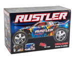 Traxxas Rustler 1/10 RTR 2WD Electric Stadium Truck (Blue) (No Battery or Charger)-Cars & Trucks-Mike's Hobby