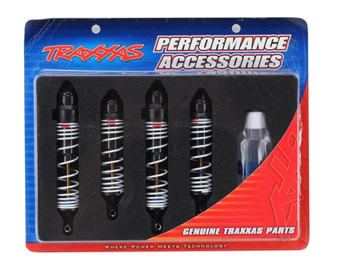 Traxxas Big Bore Shocks (Slash) (4)-TRAXXAS-Mike's Hobby