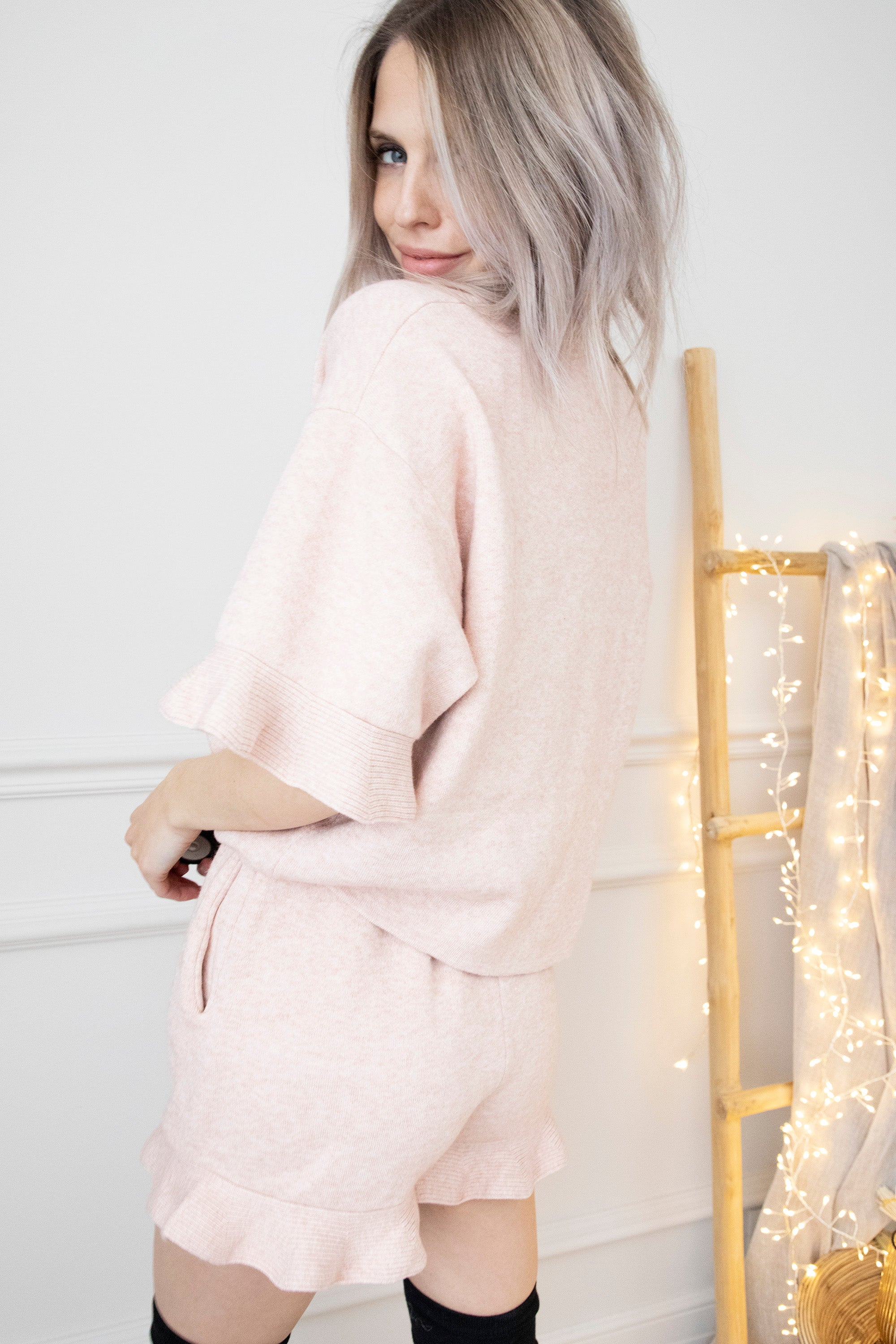 Stay At Home Soft Pink - Comfy Set