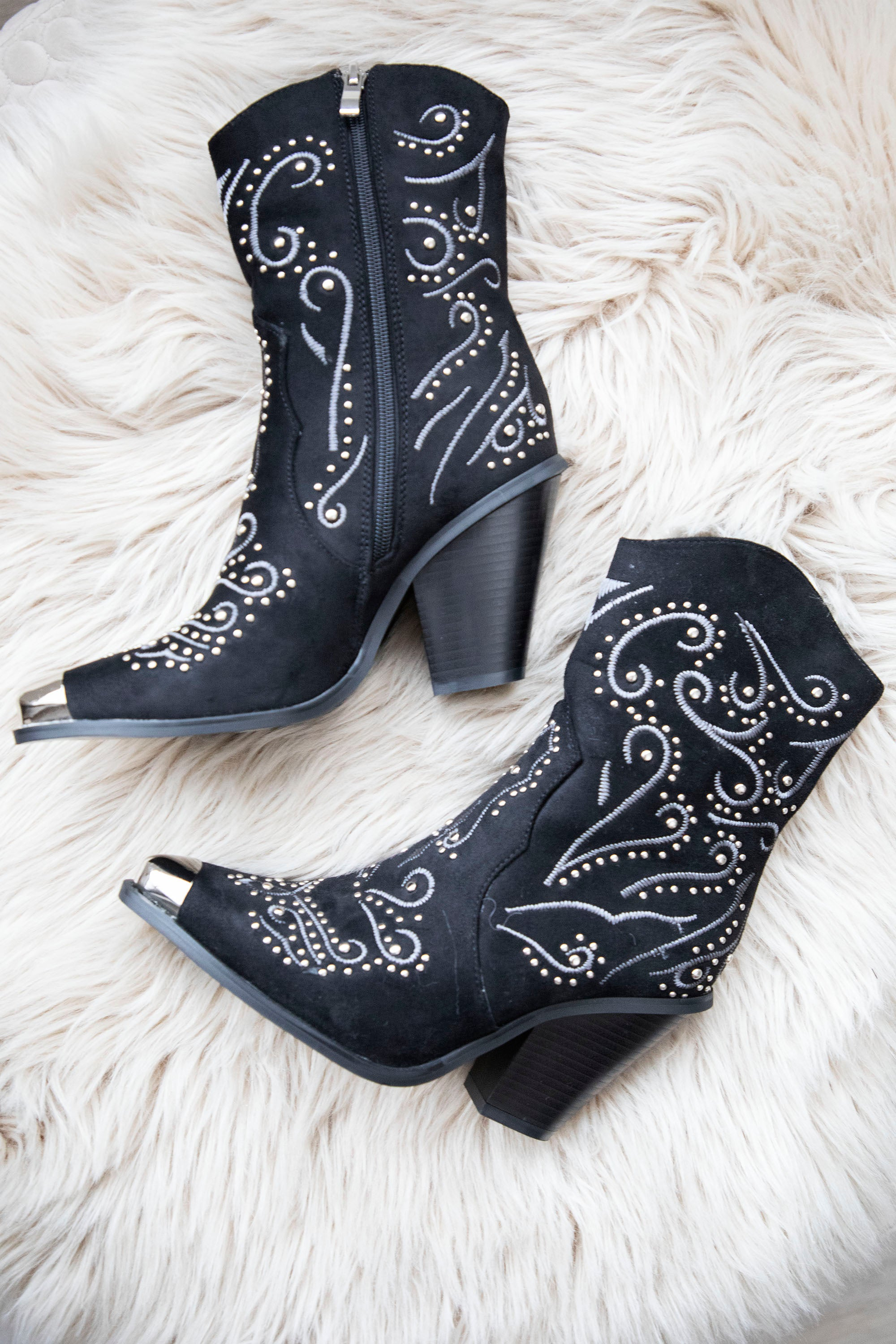 Country Girl Black - Boots