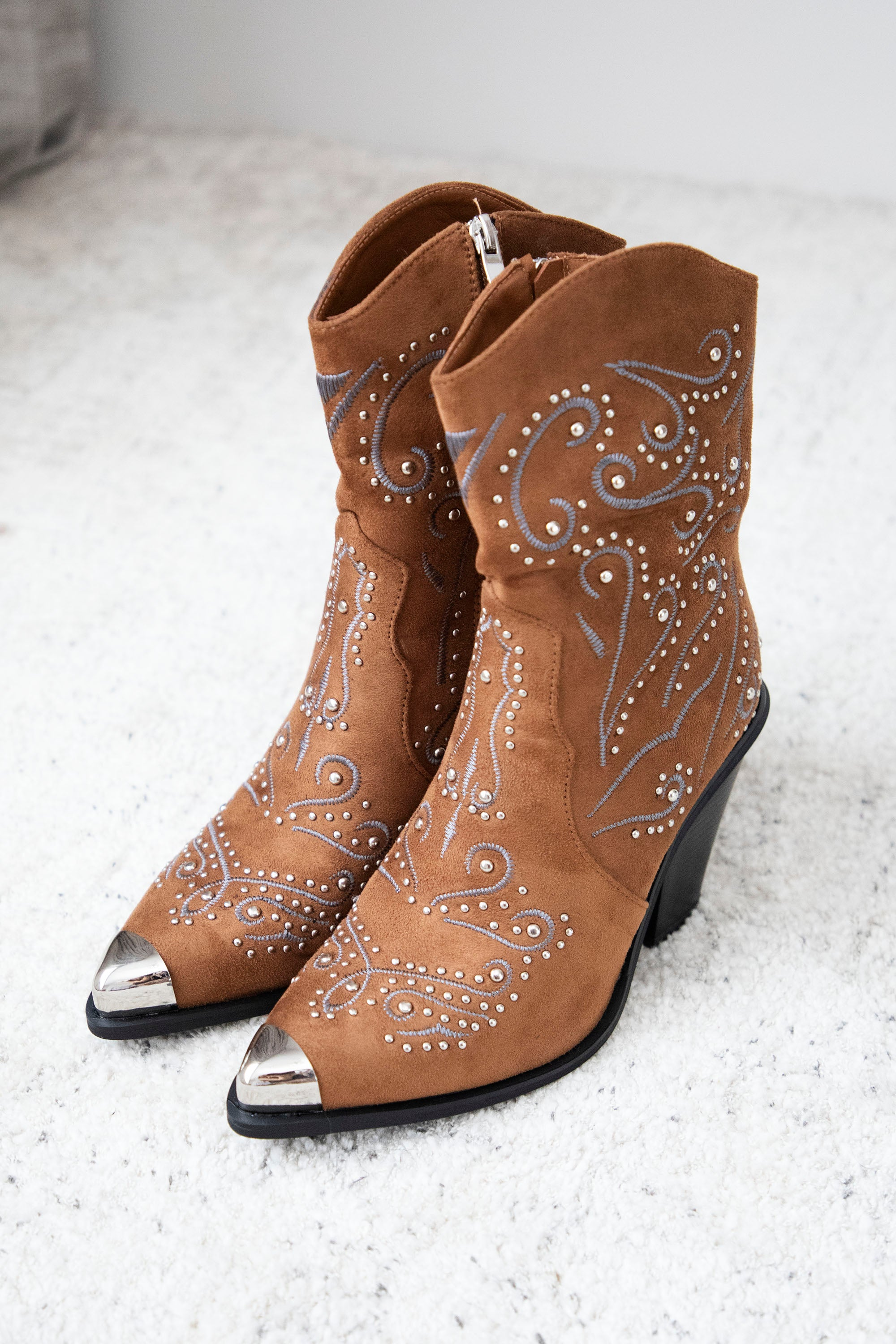 Country Girl Camel - Boots