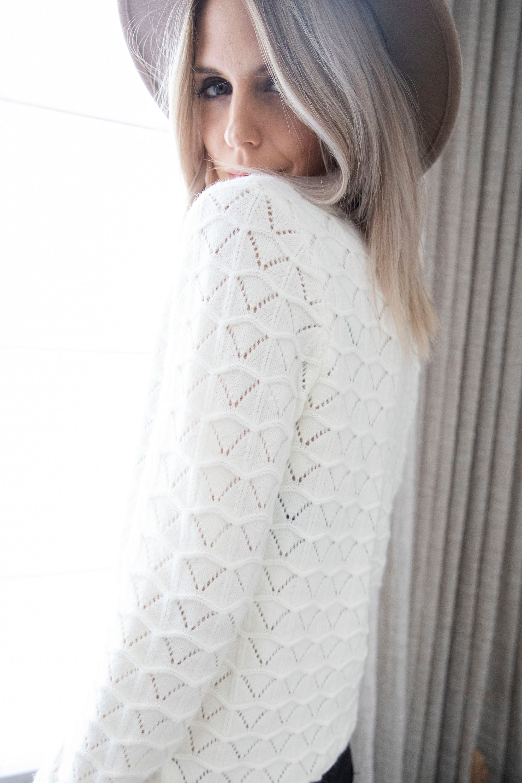 Judith Off White - Gilet