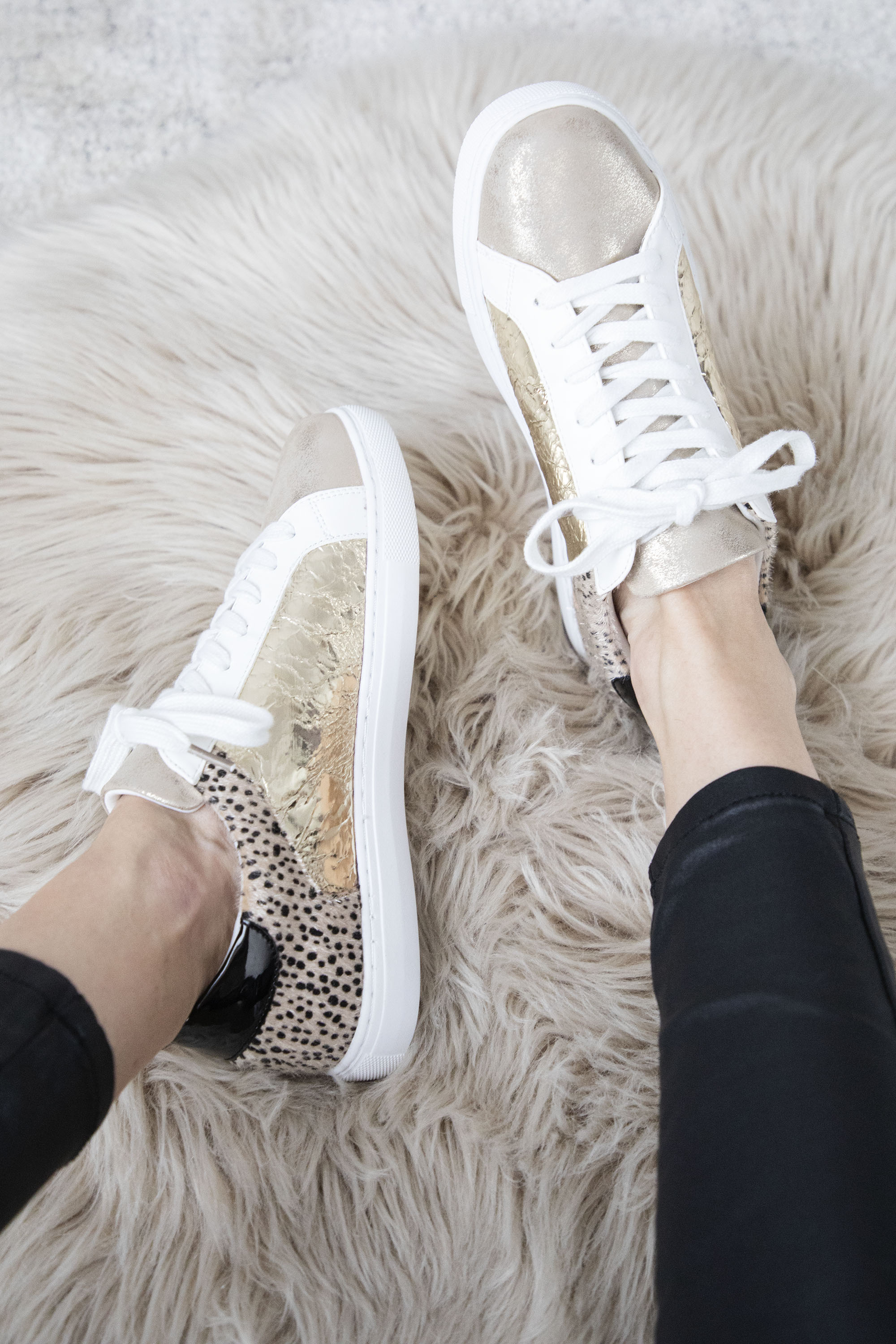 Wild Catch Gold/Leo - Sneakers