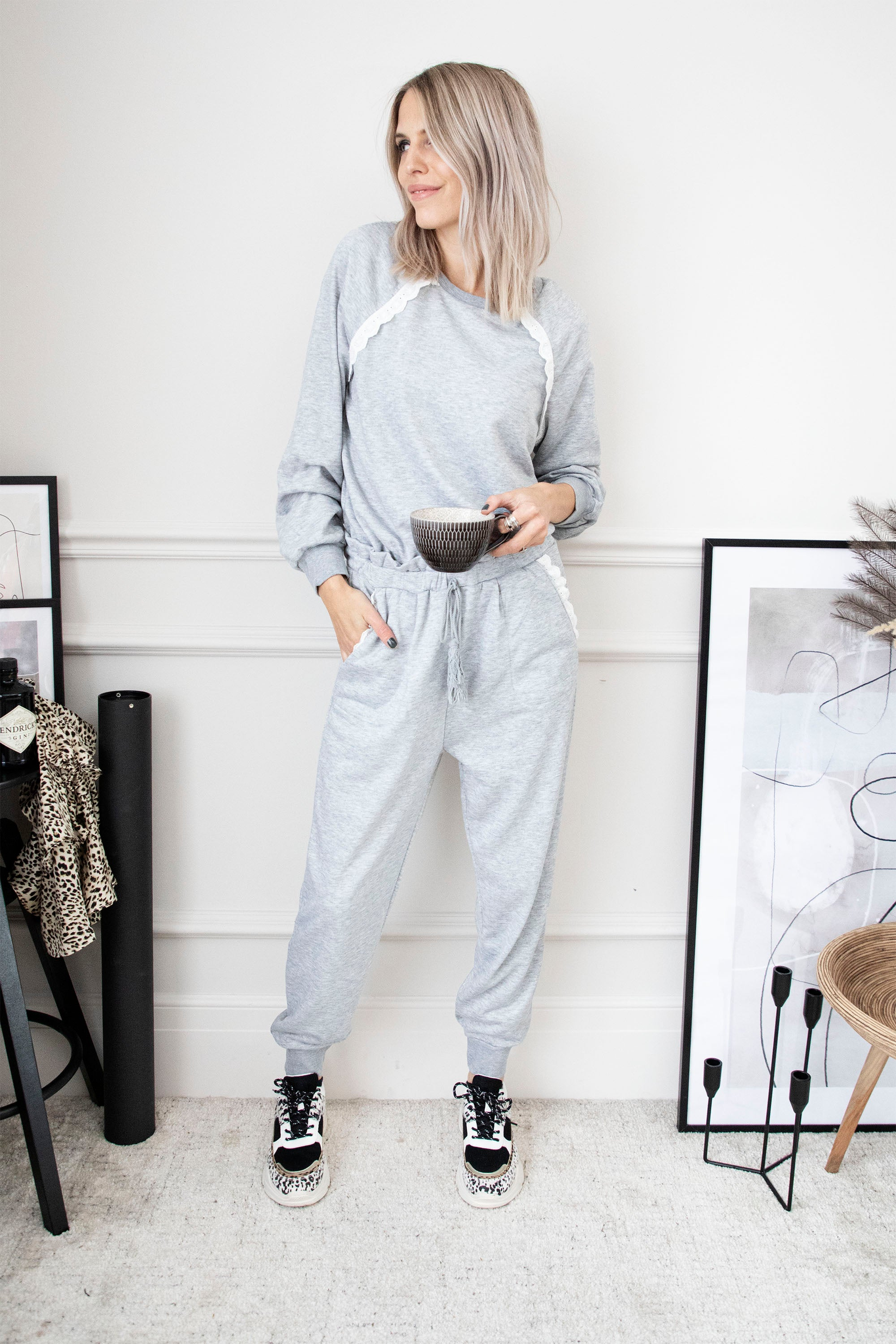 Take Time To Relax Grey - Comfy Set