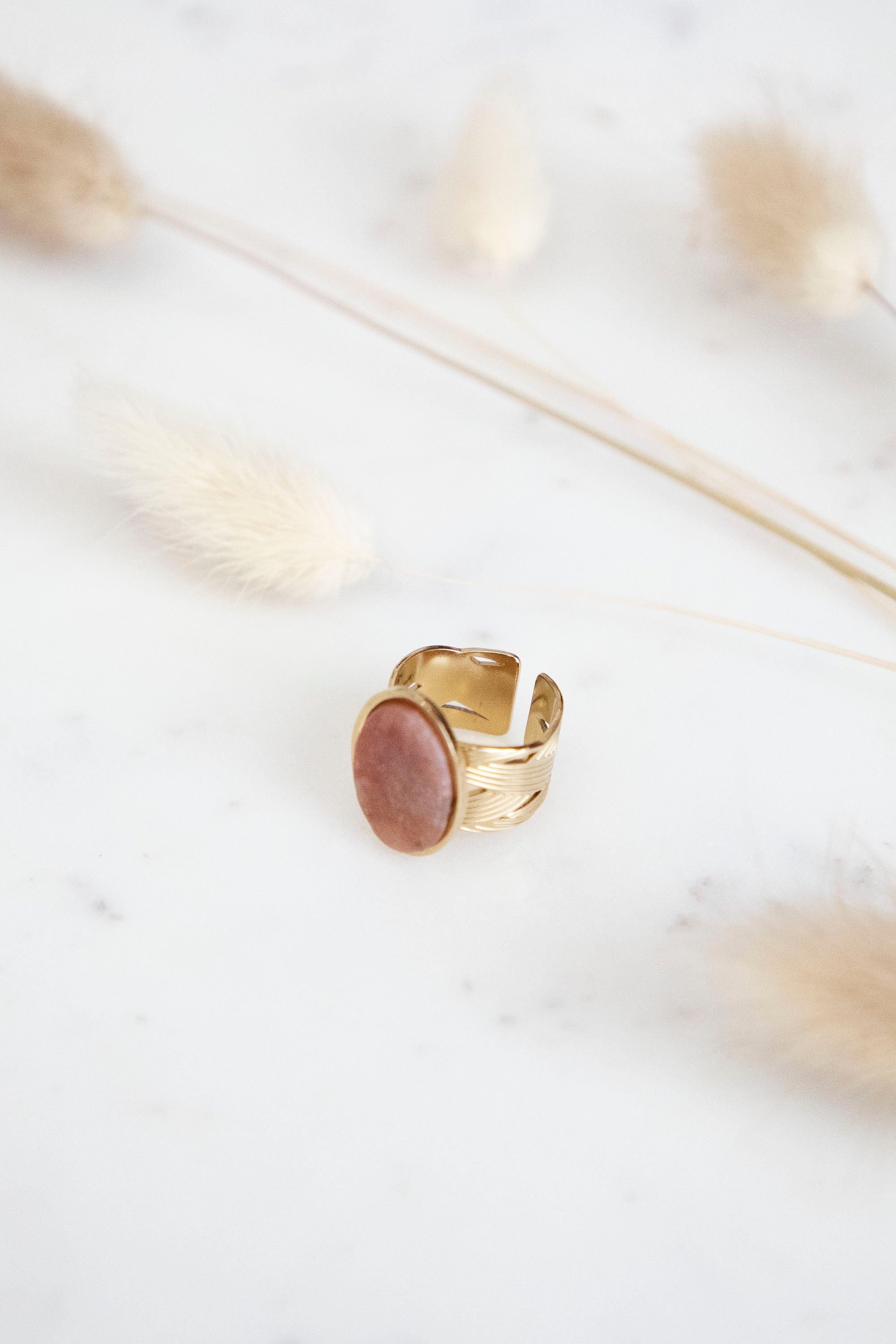 Yasmine Indian Red/Gold - Ring