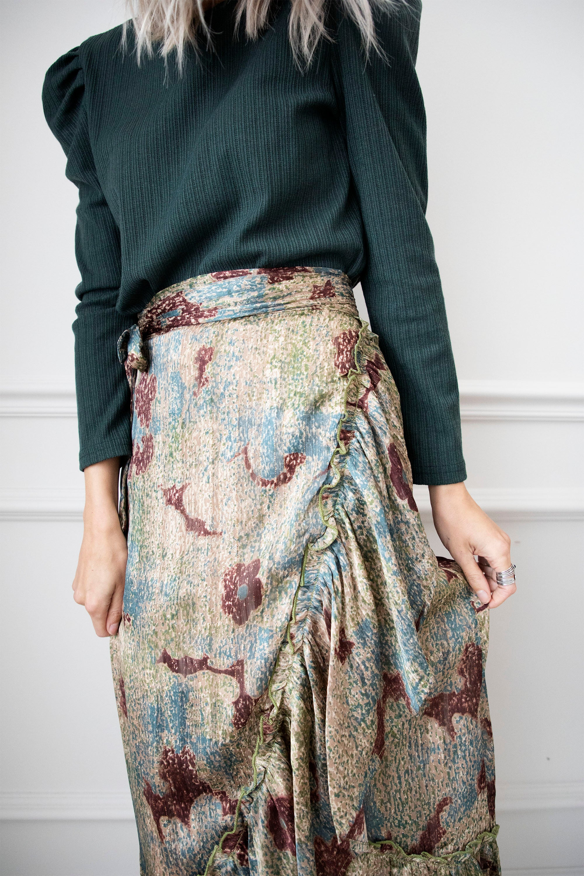 All Over The World Green - Maxi Rok