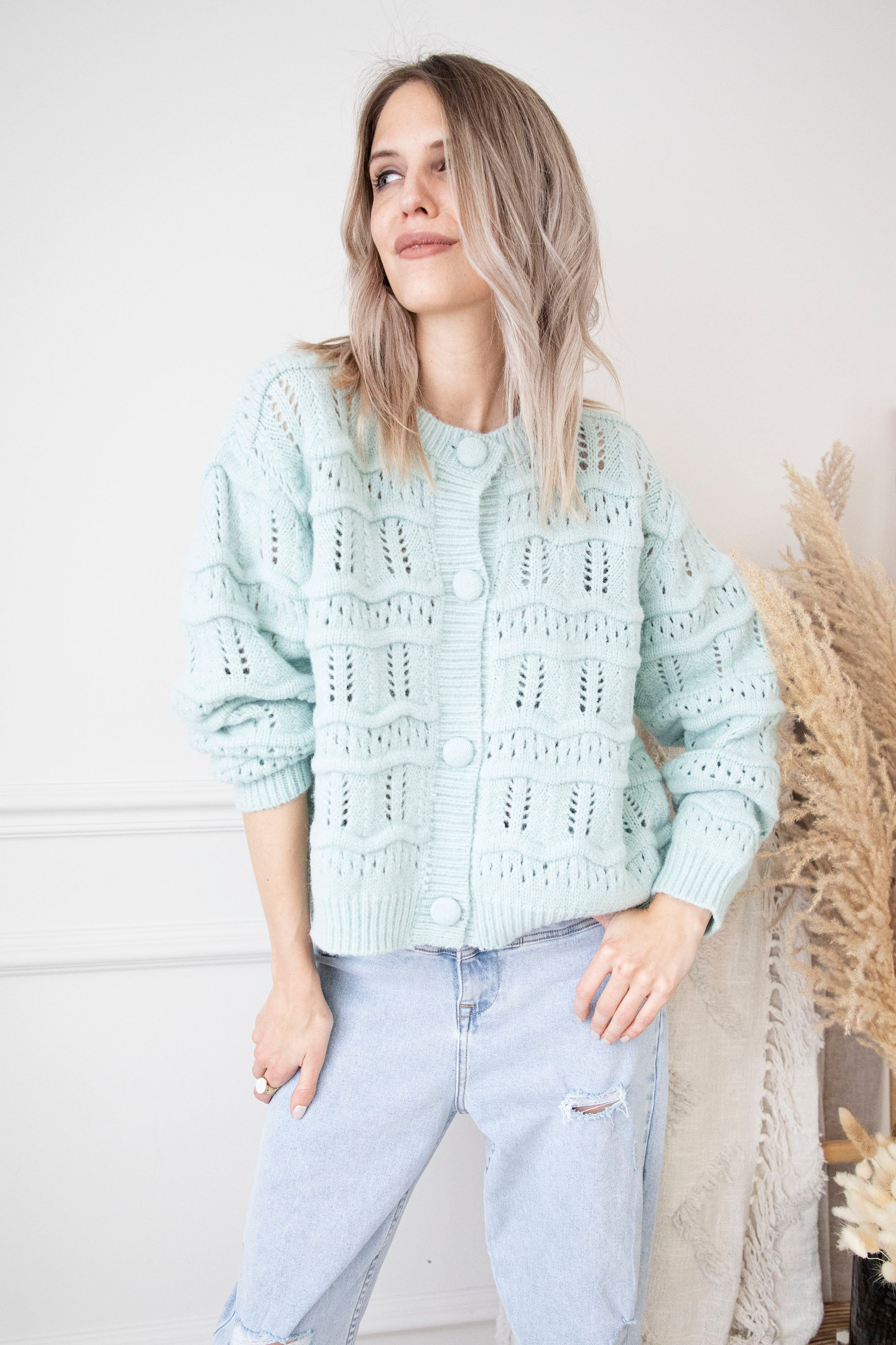 Be Bold, Be Brave, Be You Mint - Gilet