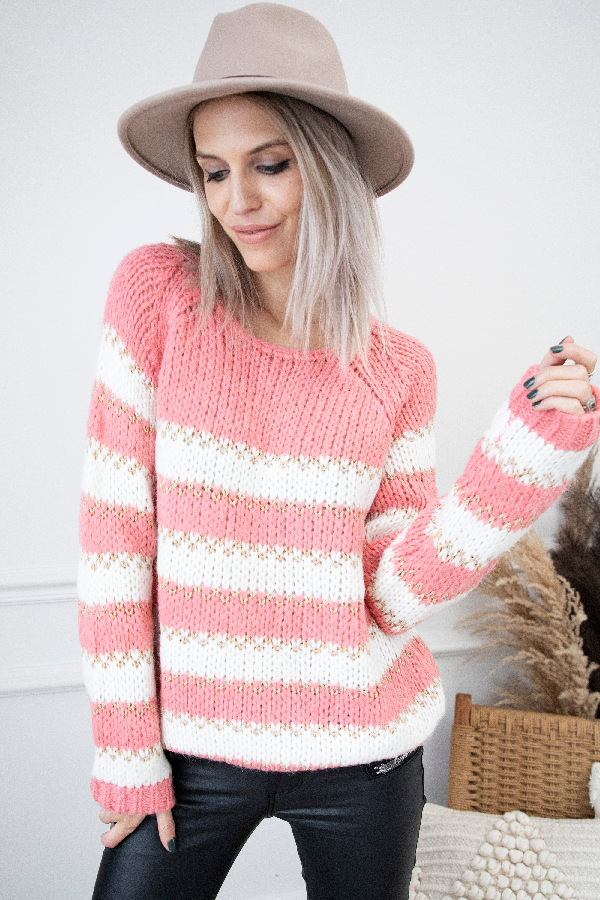 Stripes Forever Pink - Trui