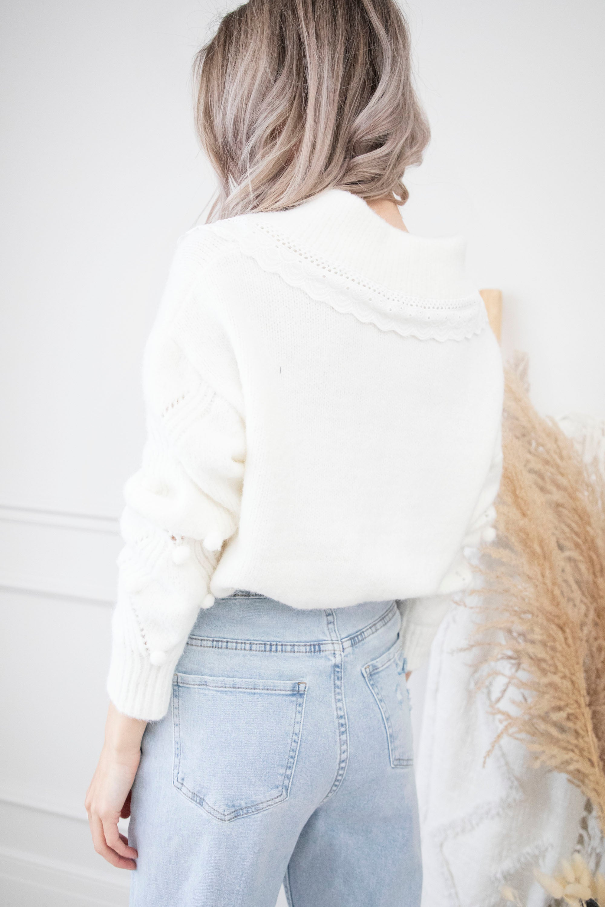 Cute, Cozy & Comfy Off White - Trui