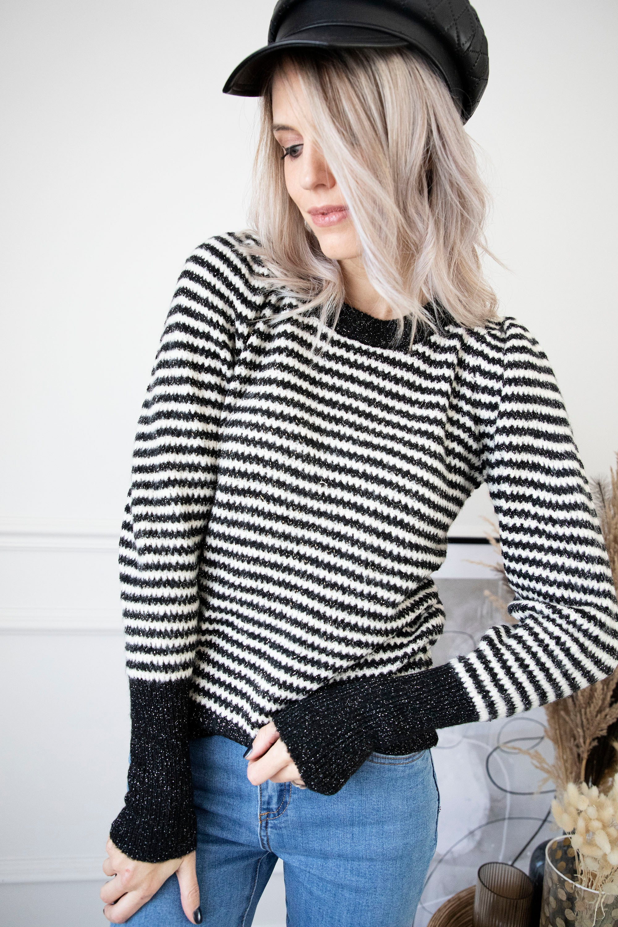 Fabulous Stripes Black - Trui