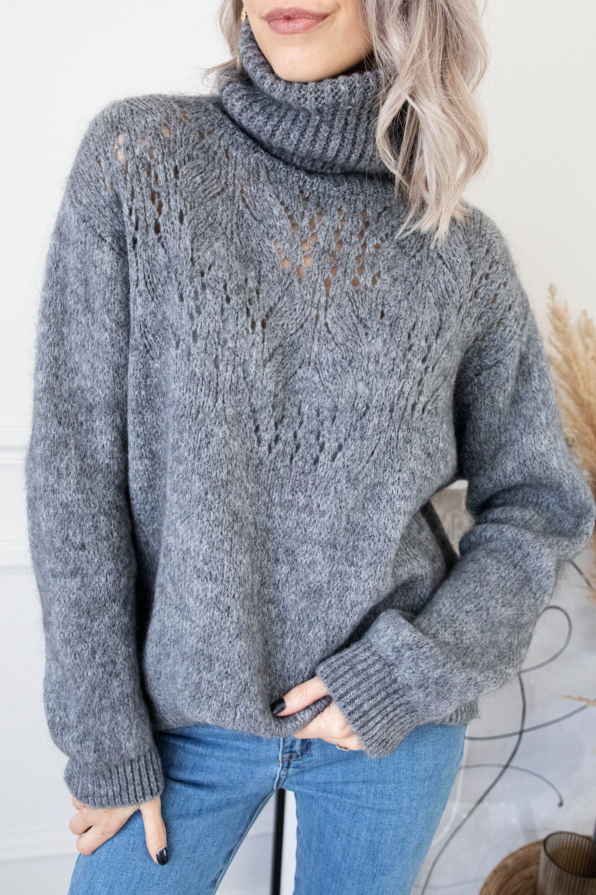 Cozy Company Dark Grey - Trui