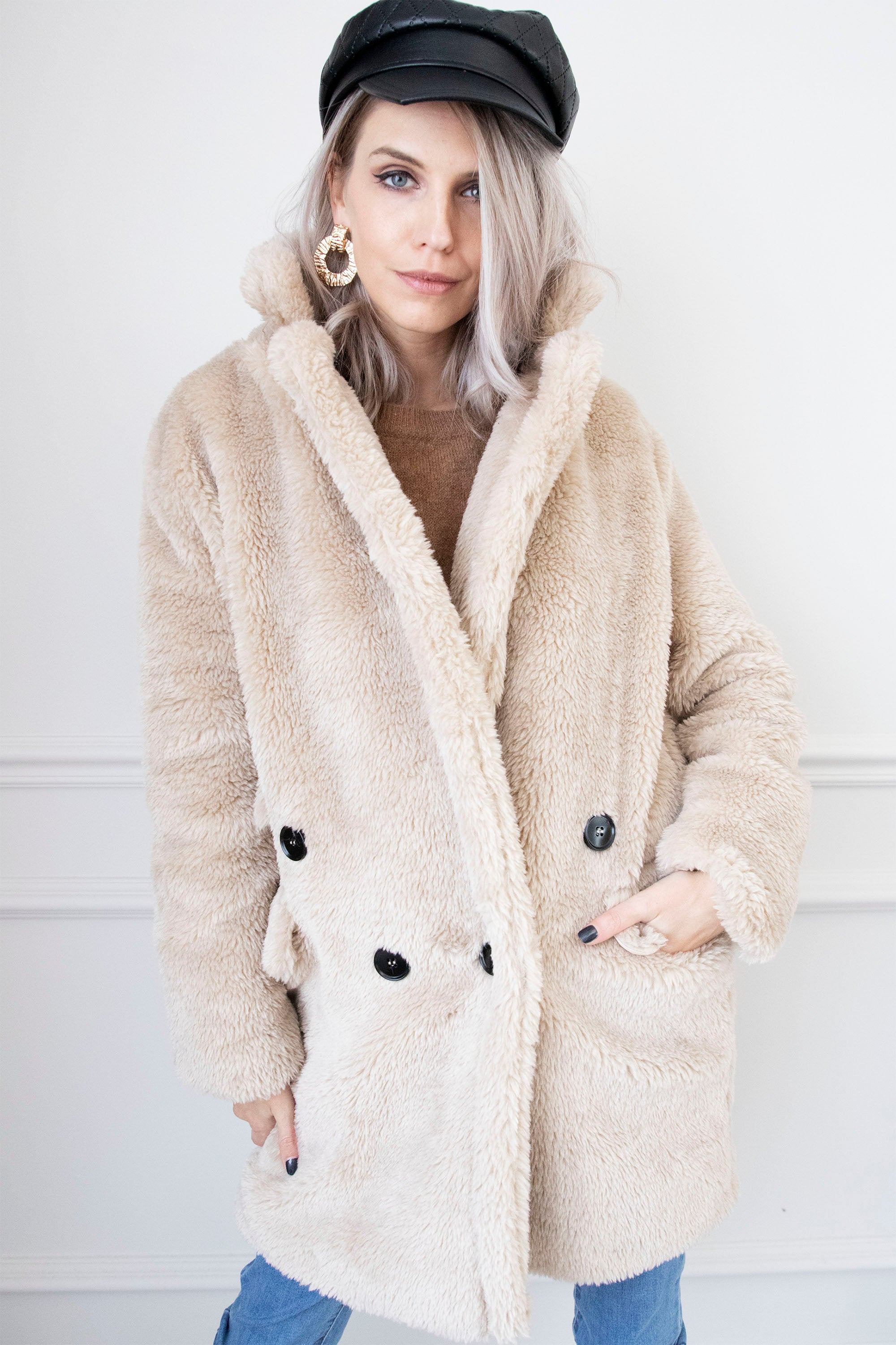 Comfy Cuddle Coat Cafe Au Lait - Mantel