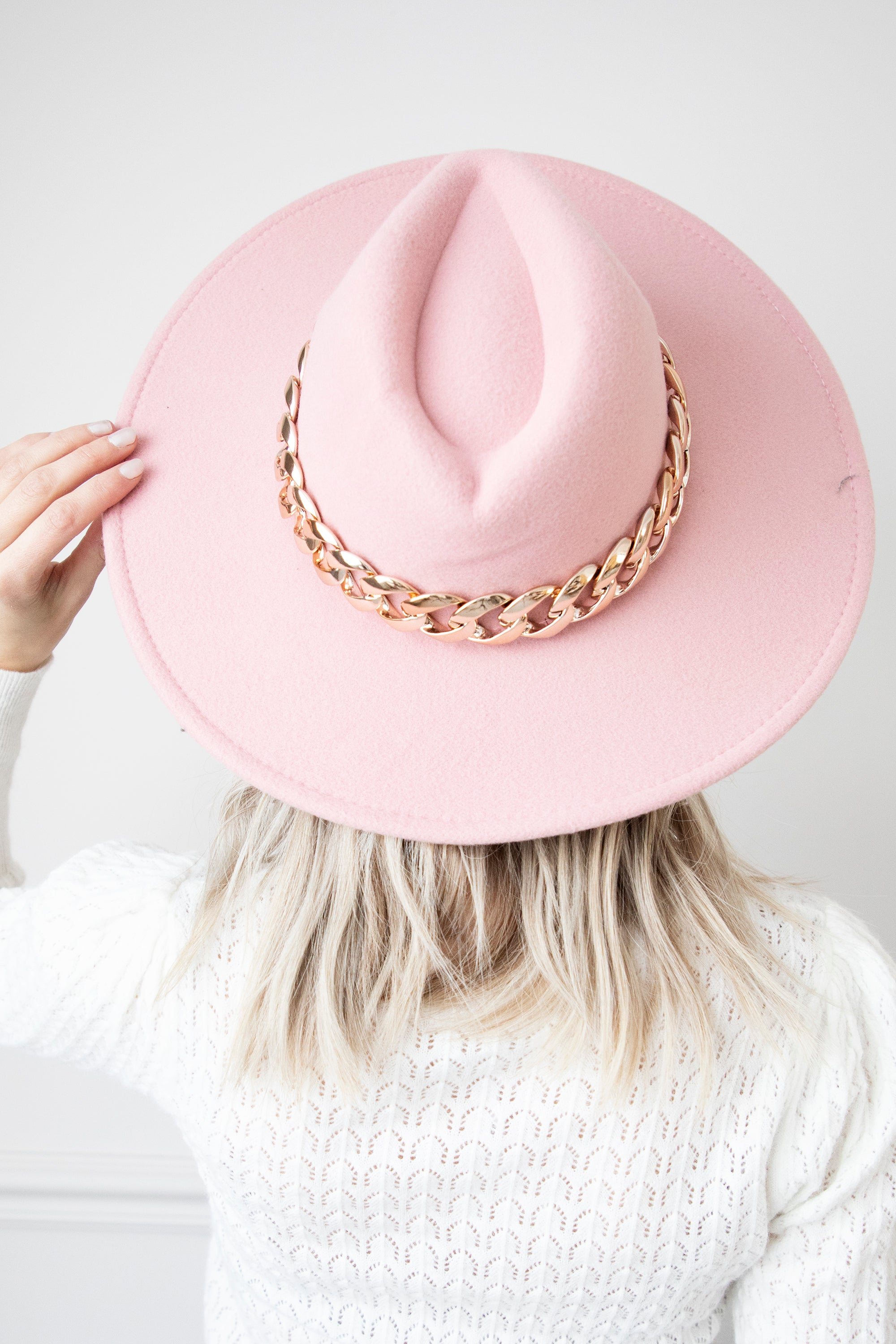 Charlie Chain Pink - Hoed