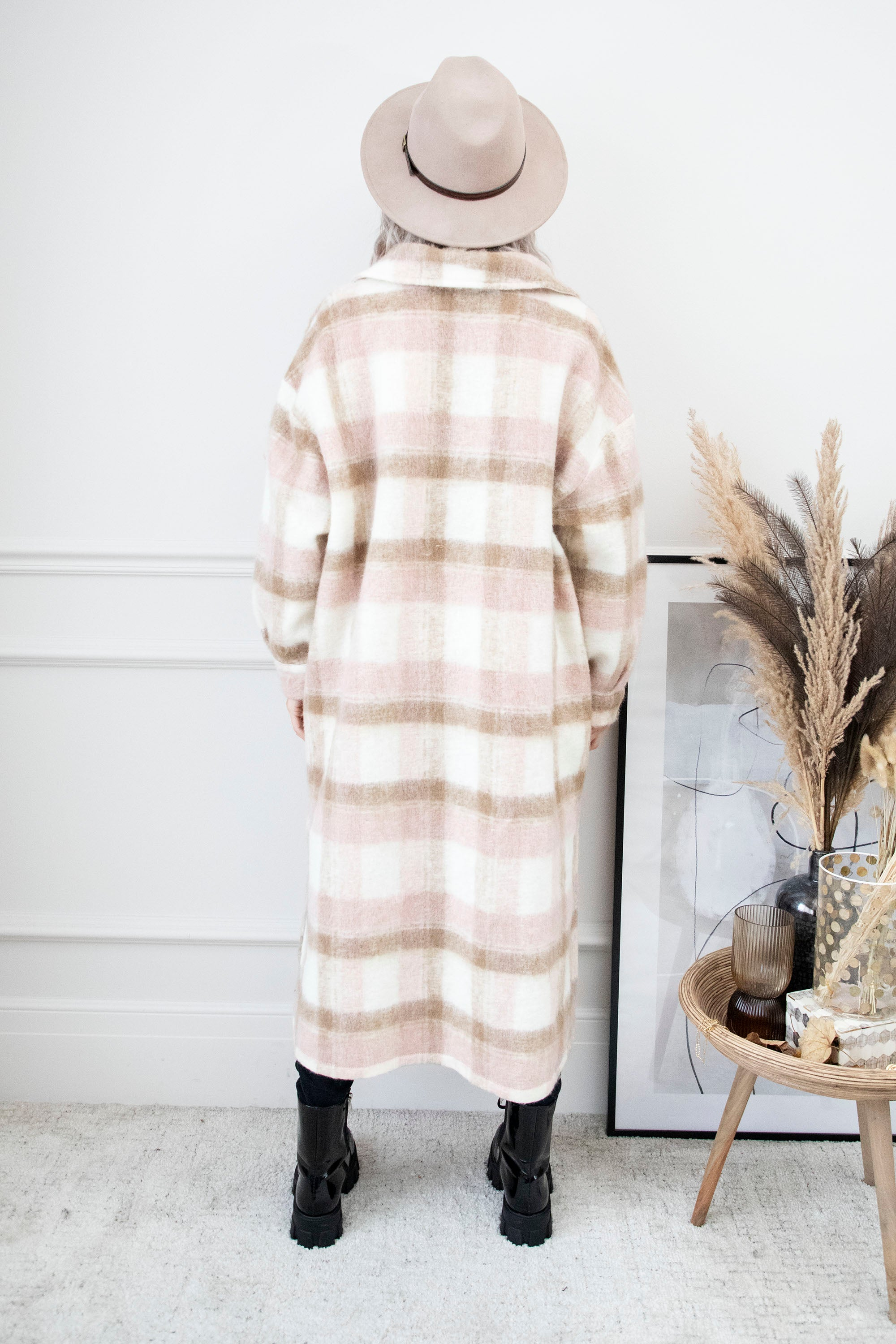Long Check You Out Soft Pink - Mantel