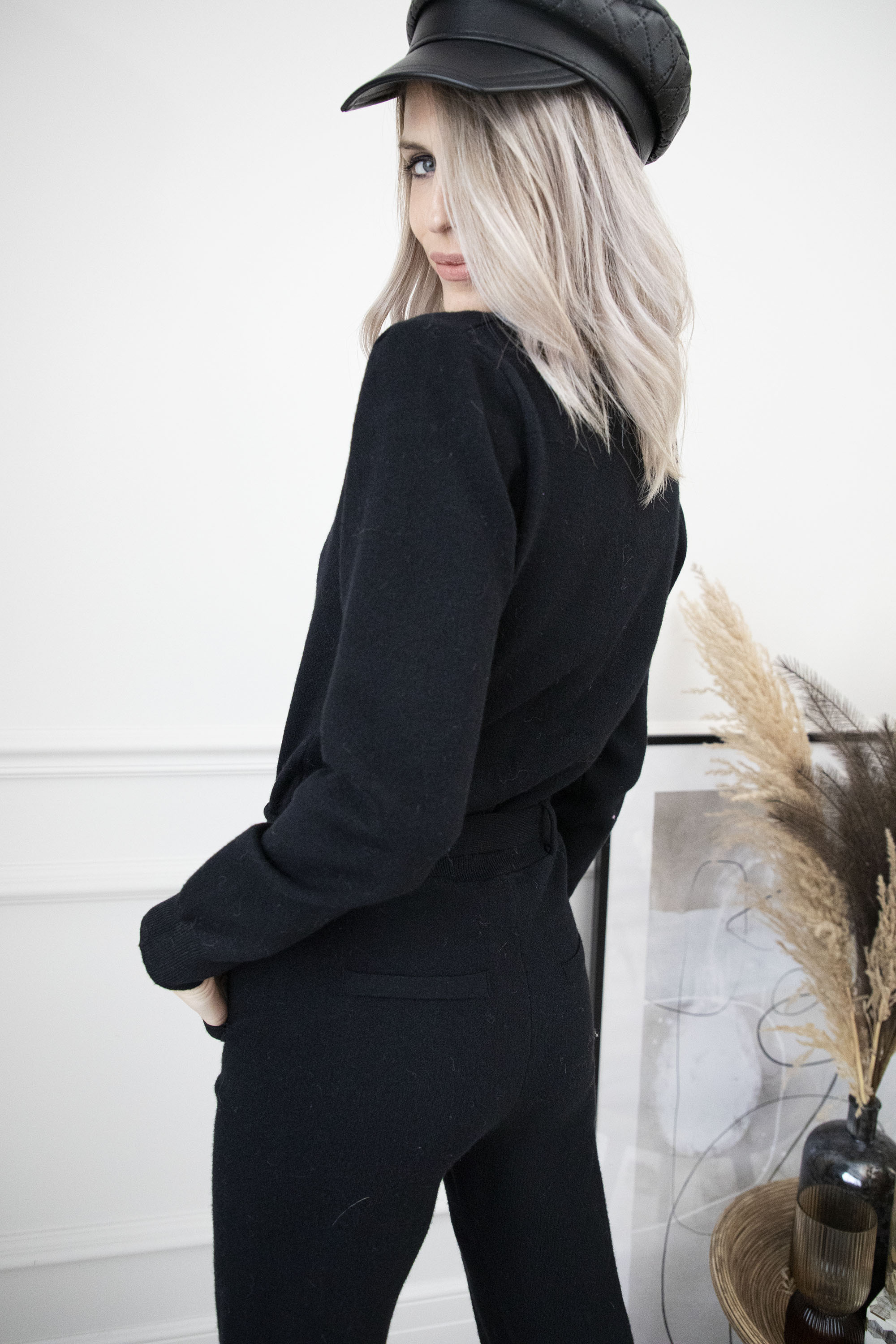 Own The Look Black - Jumpsuit
