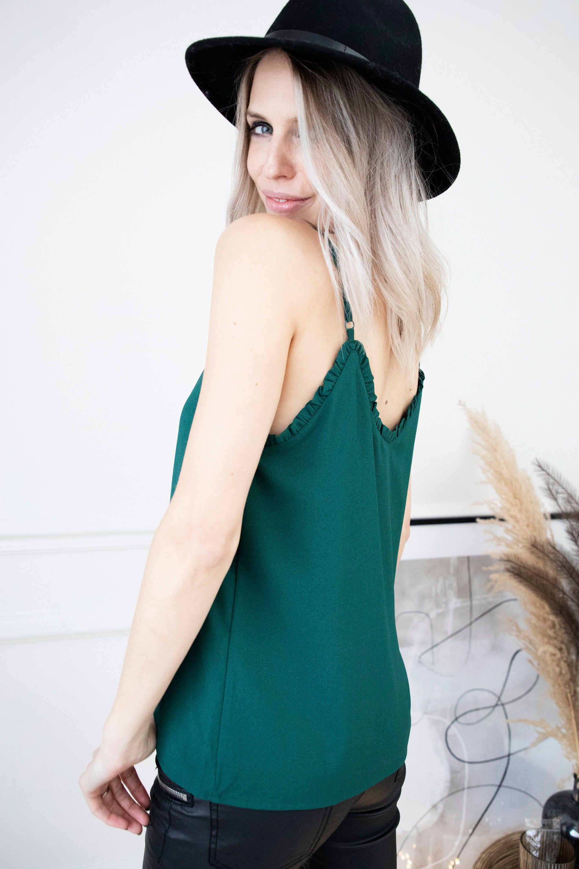 Tess Dark Green - Top