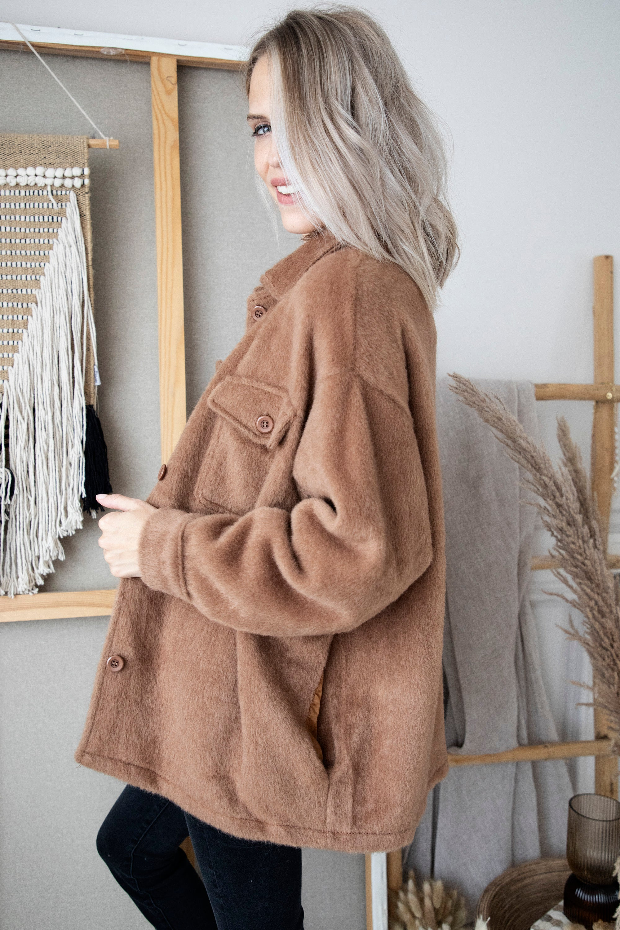 My Favorite Faux Fur Brown - Jacket