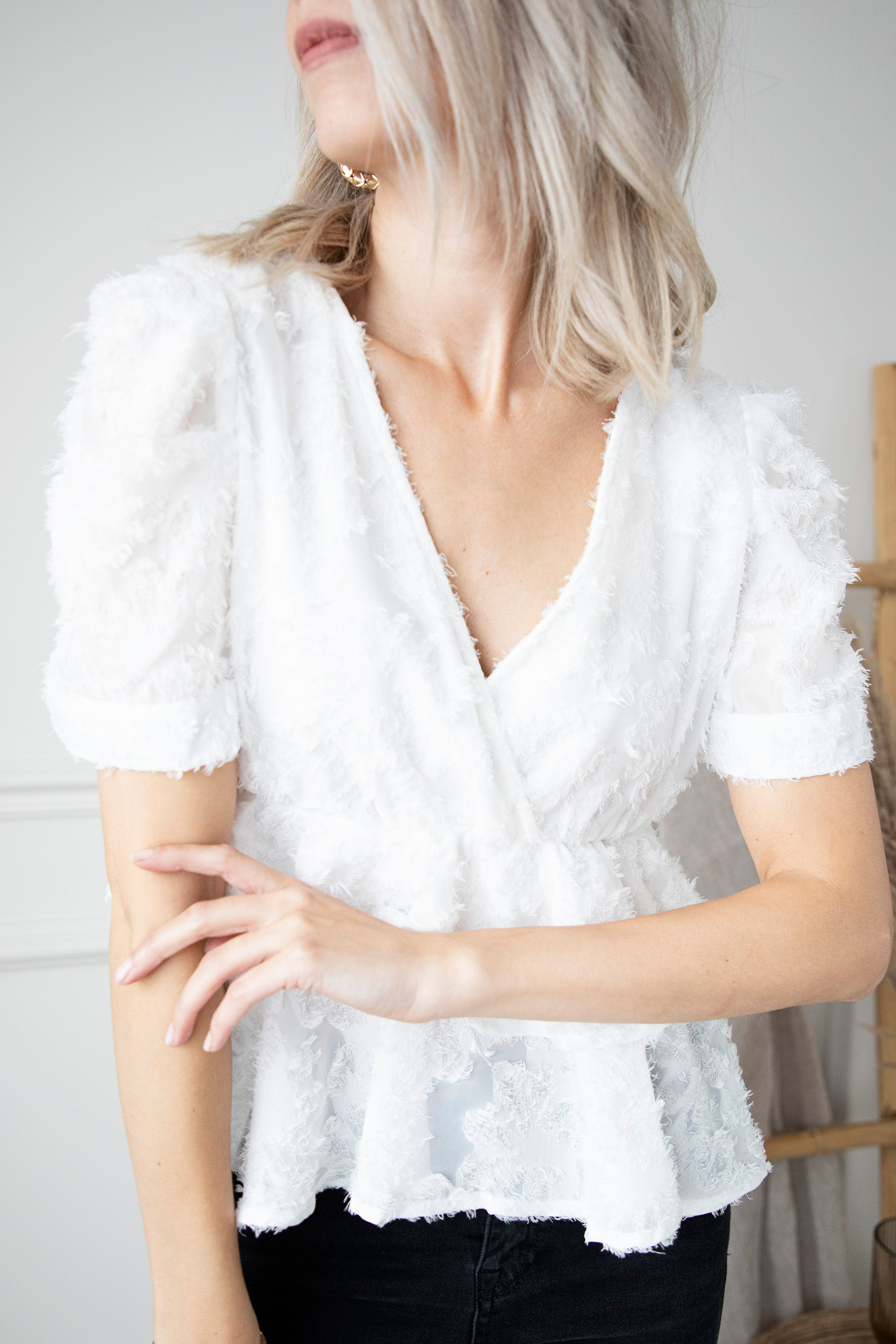 Soft Autumn Feelings White - Blouse