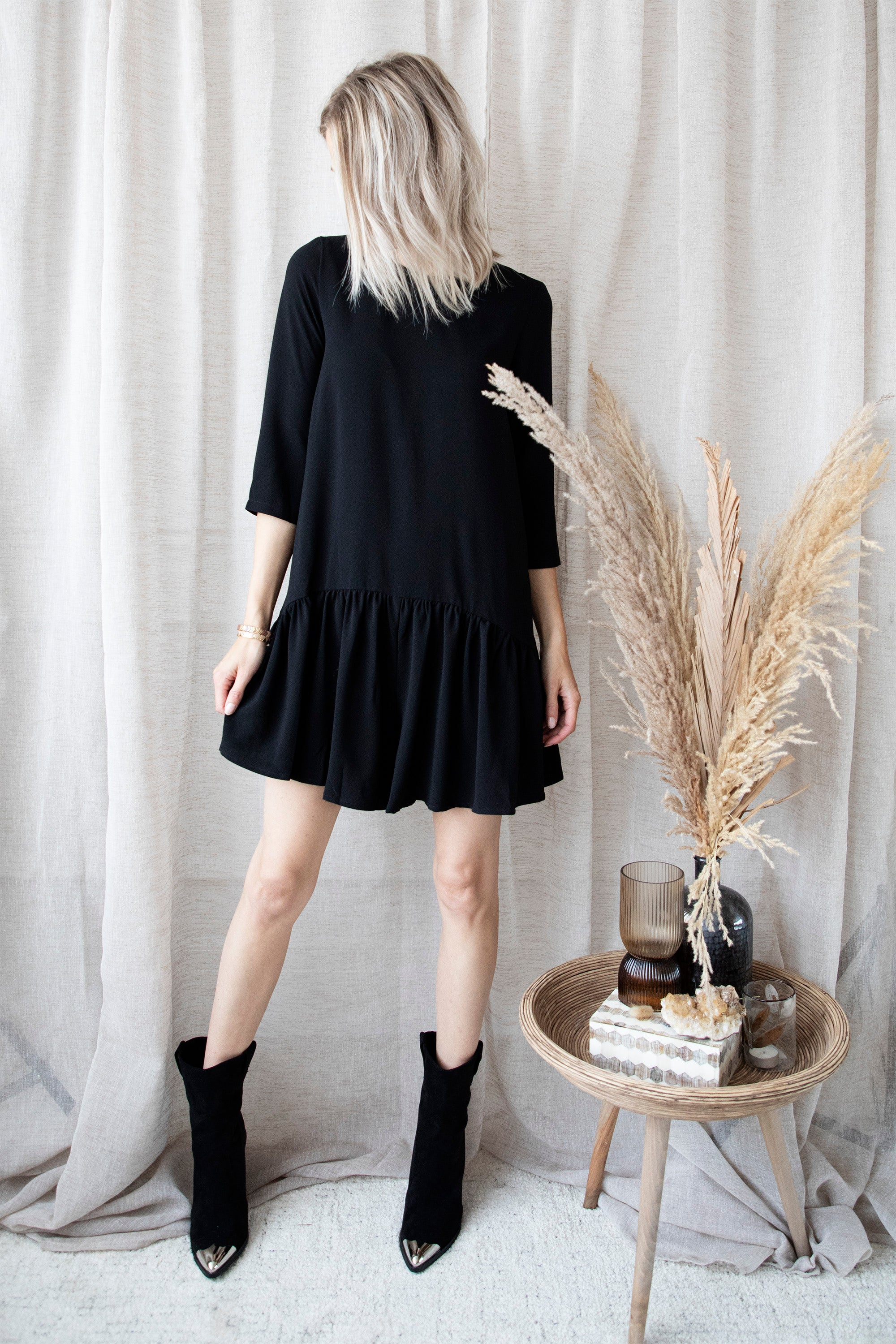 Those Fabulous Nights Black - Playsuit