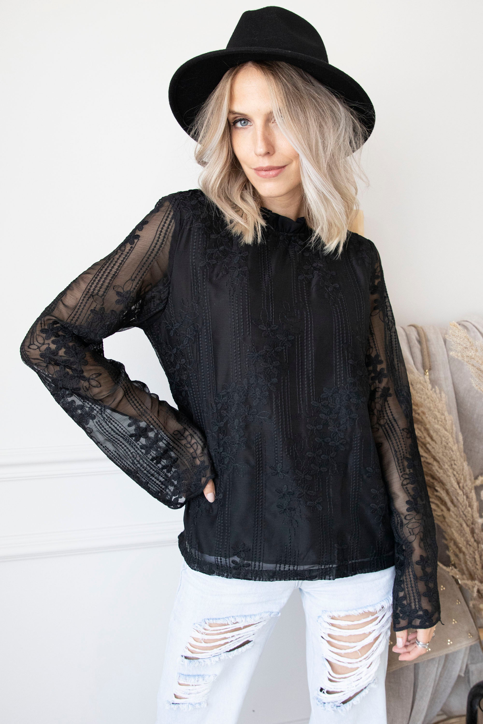 Florina Black - Blouse