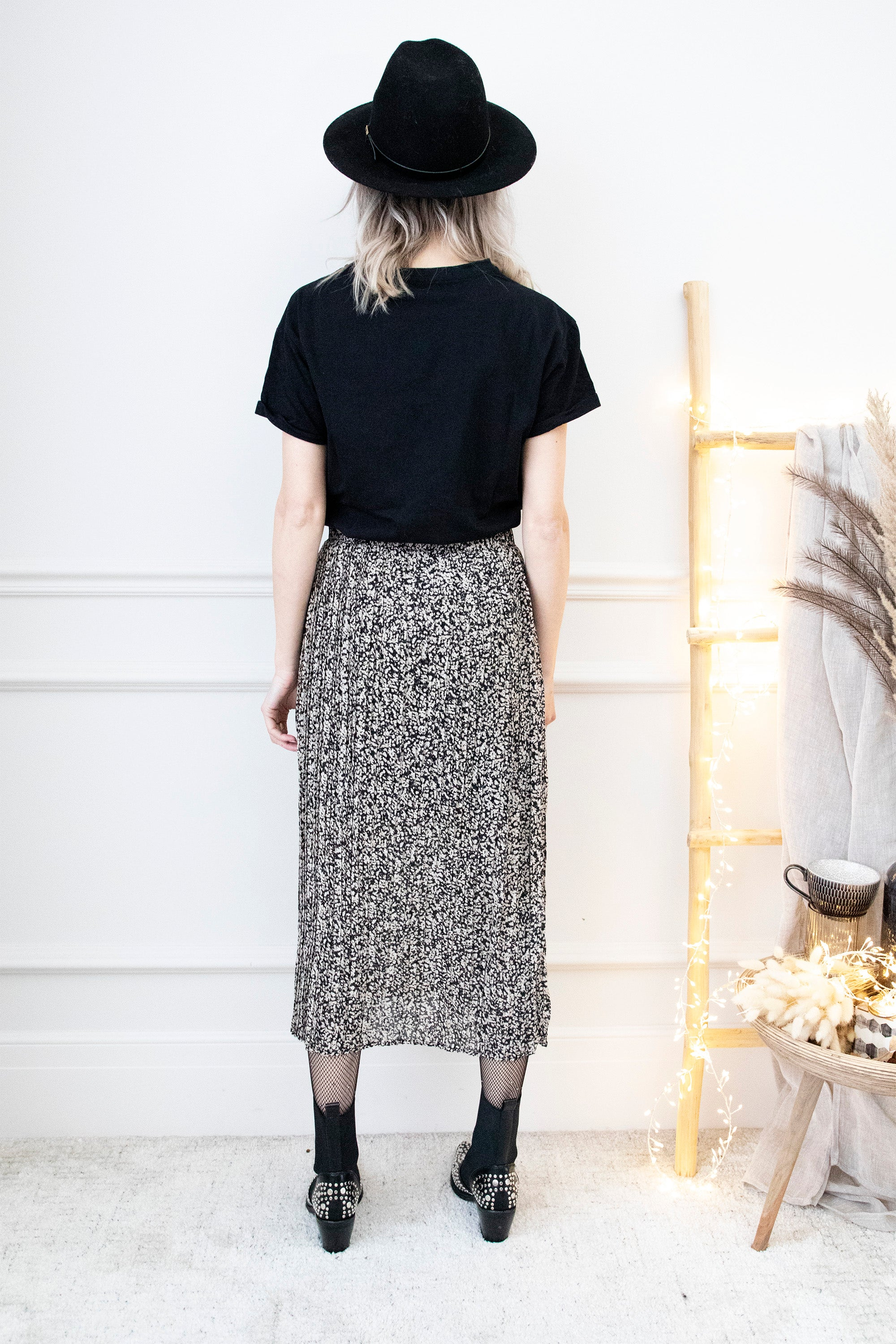 Long Dana Black Mix - Rok