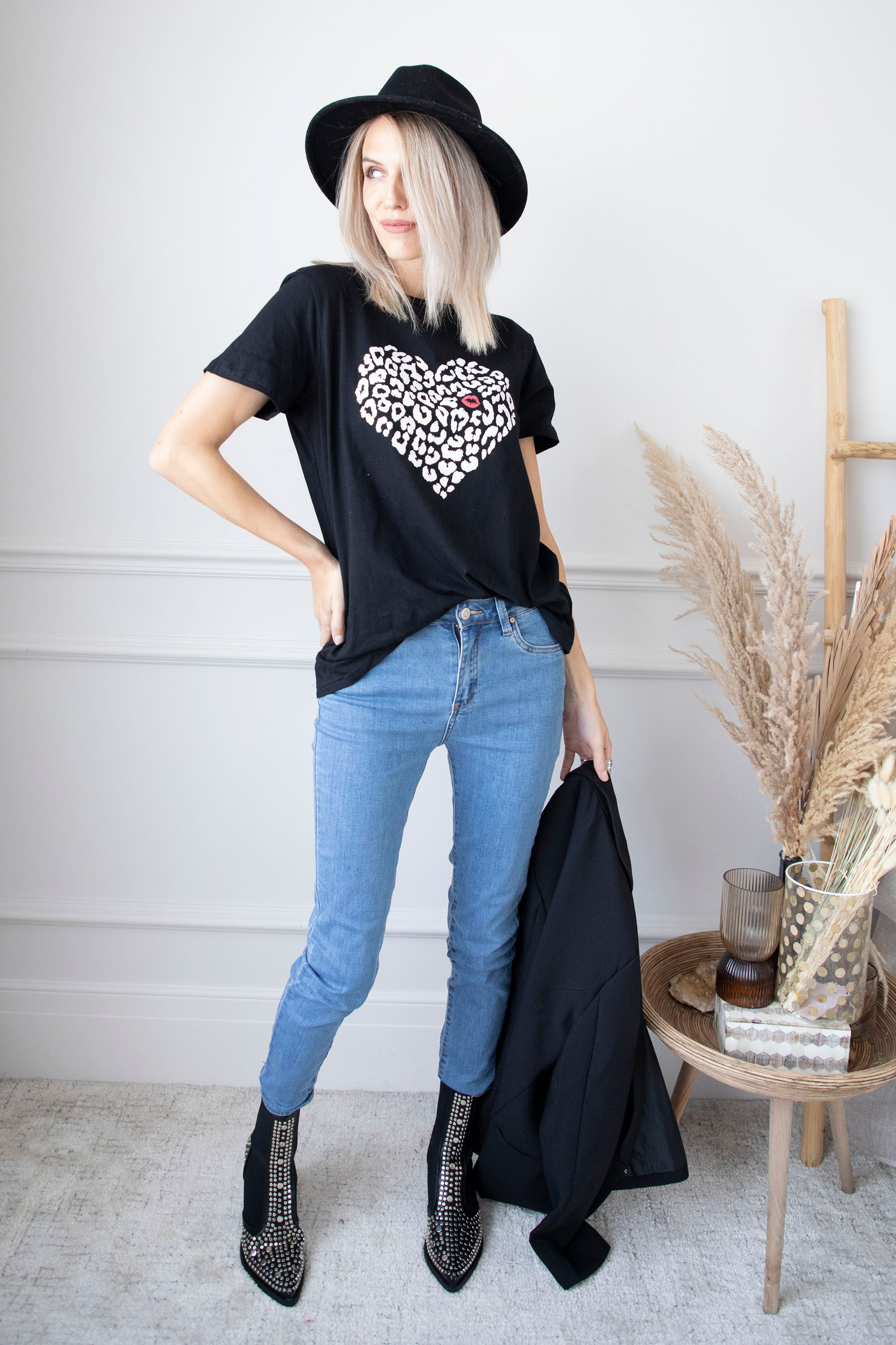Wild At Heart Black - T-Shirt