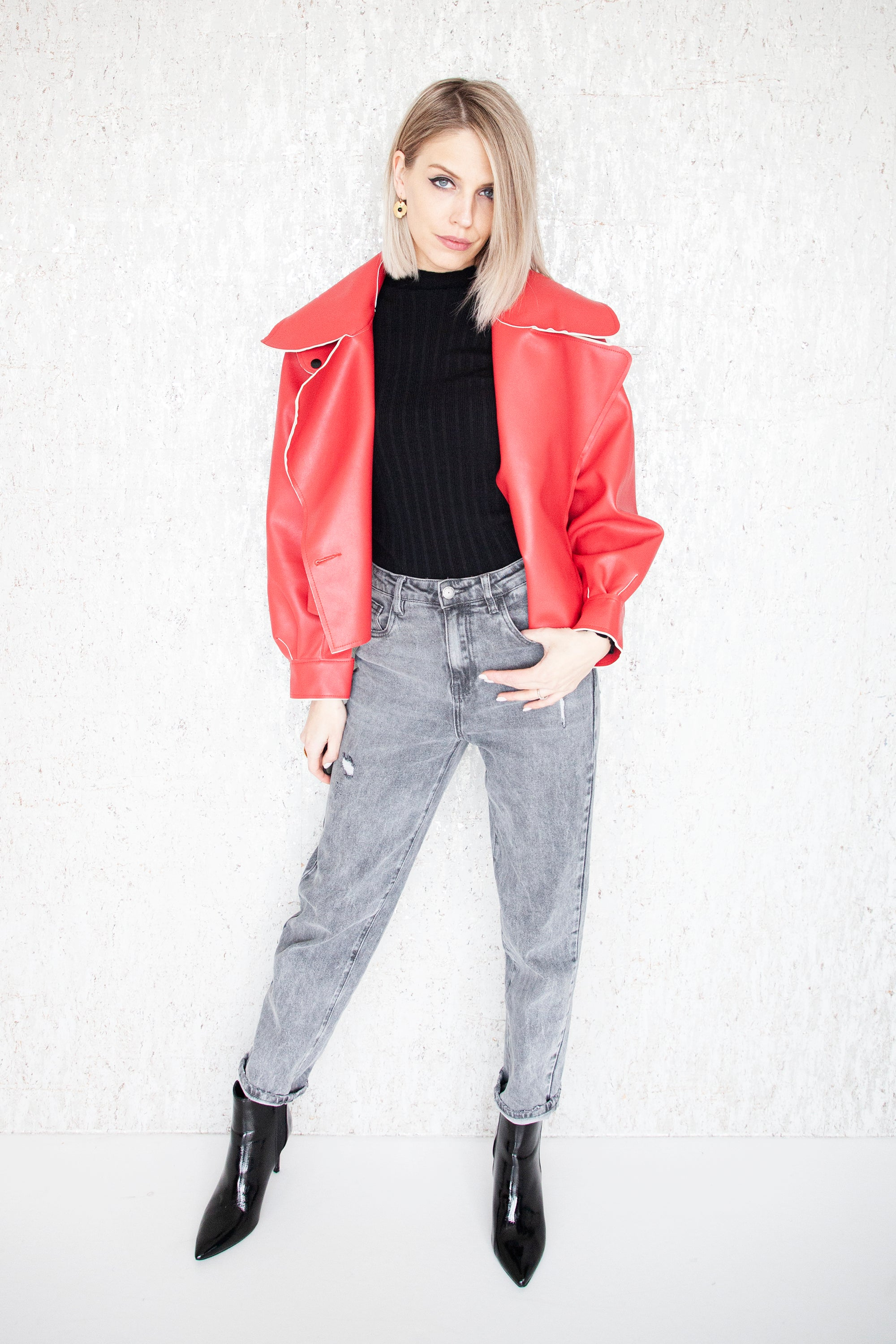 The Ultimate Biker Red - Jacket