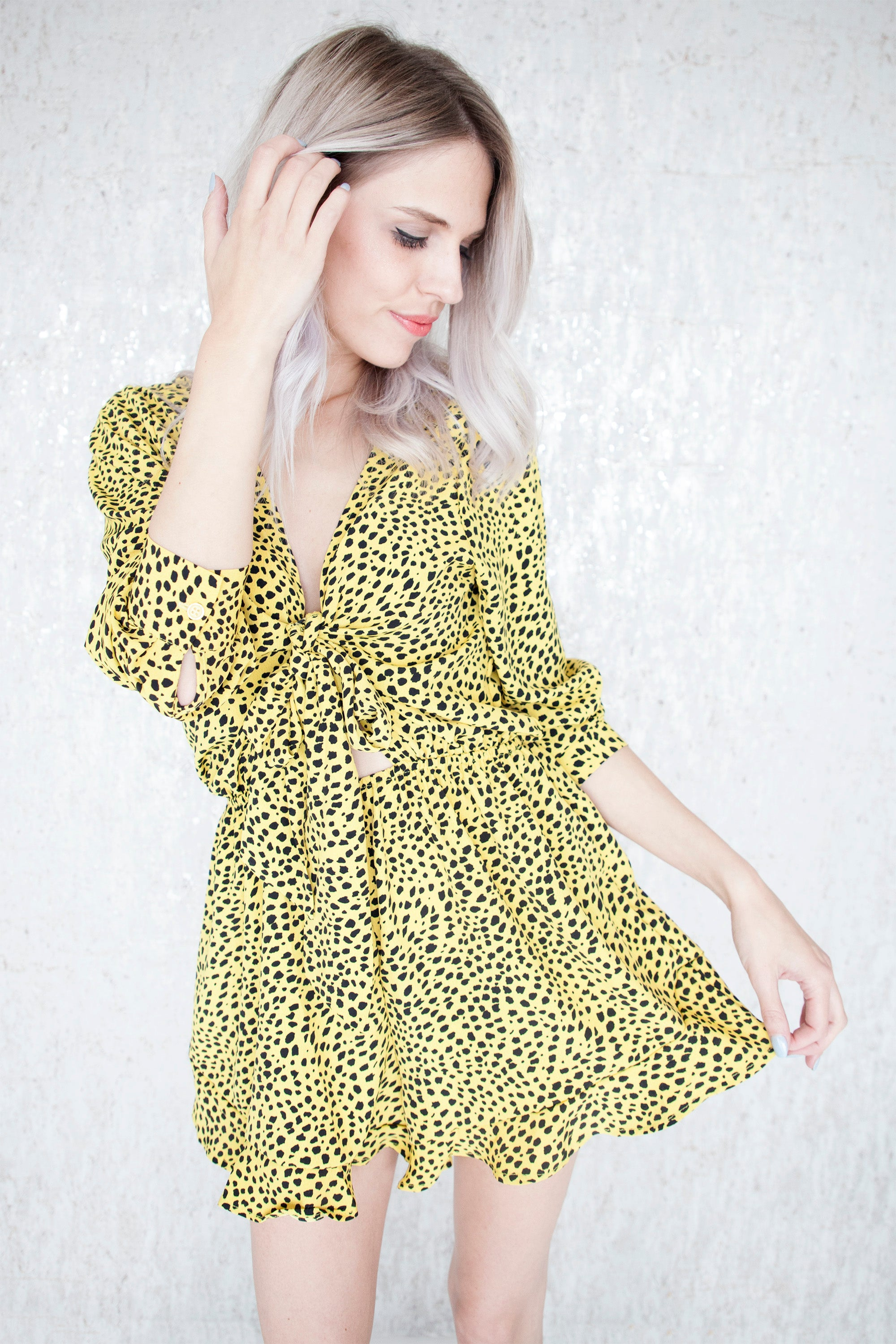 Stay Wild Yellow - Jumpsuit