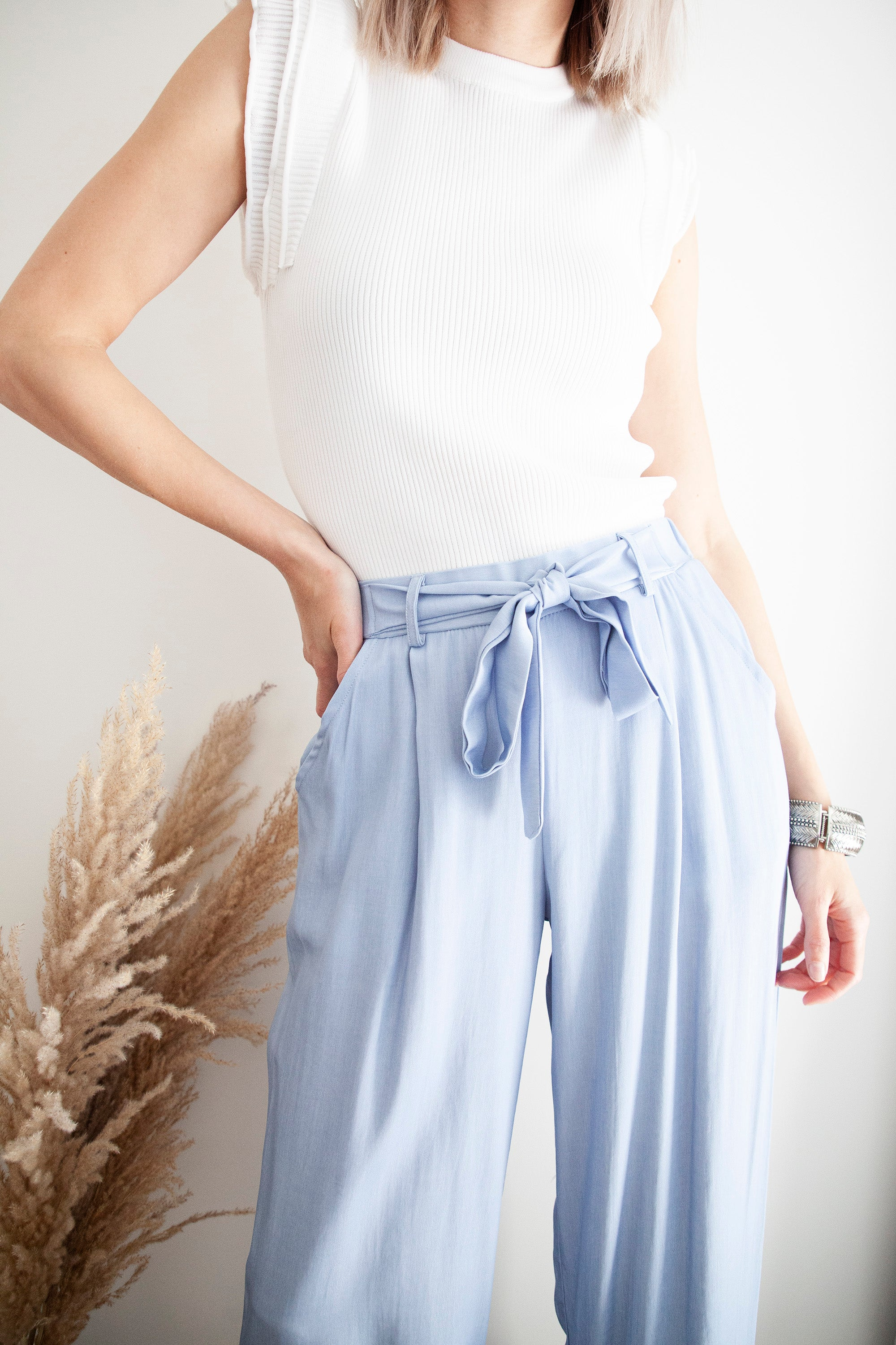 So Relaxed Blue - Broek