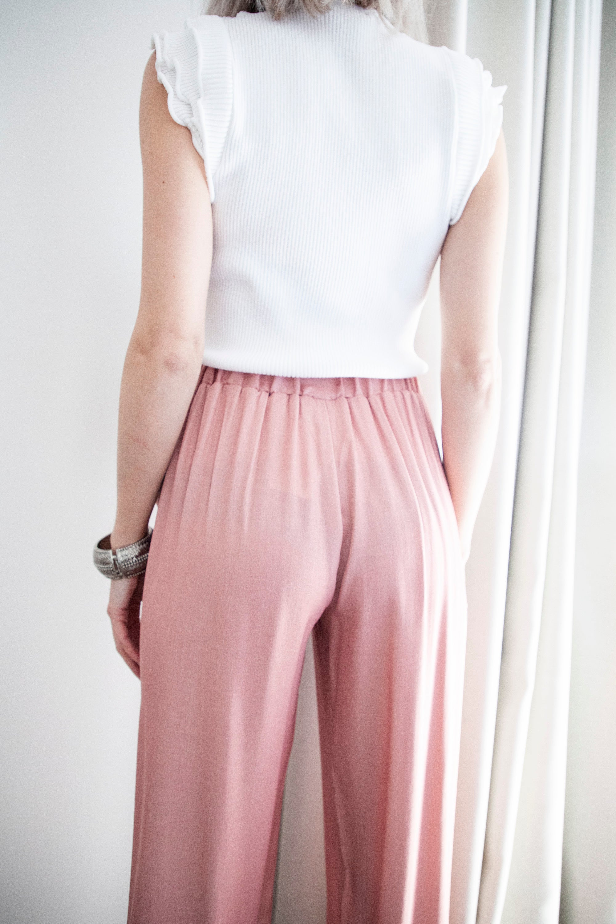 So Relaxed Pink - Broek