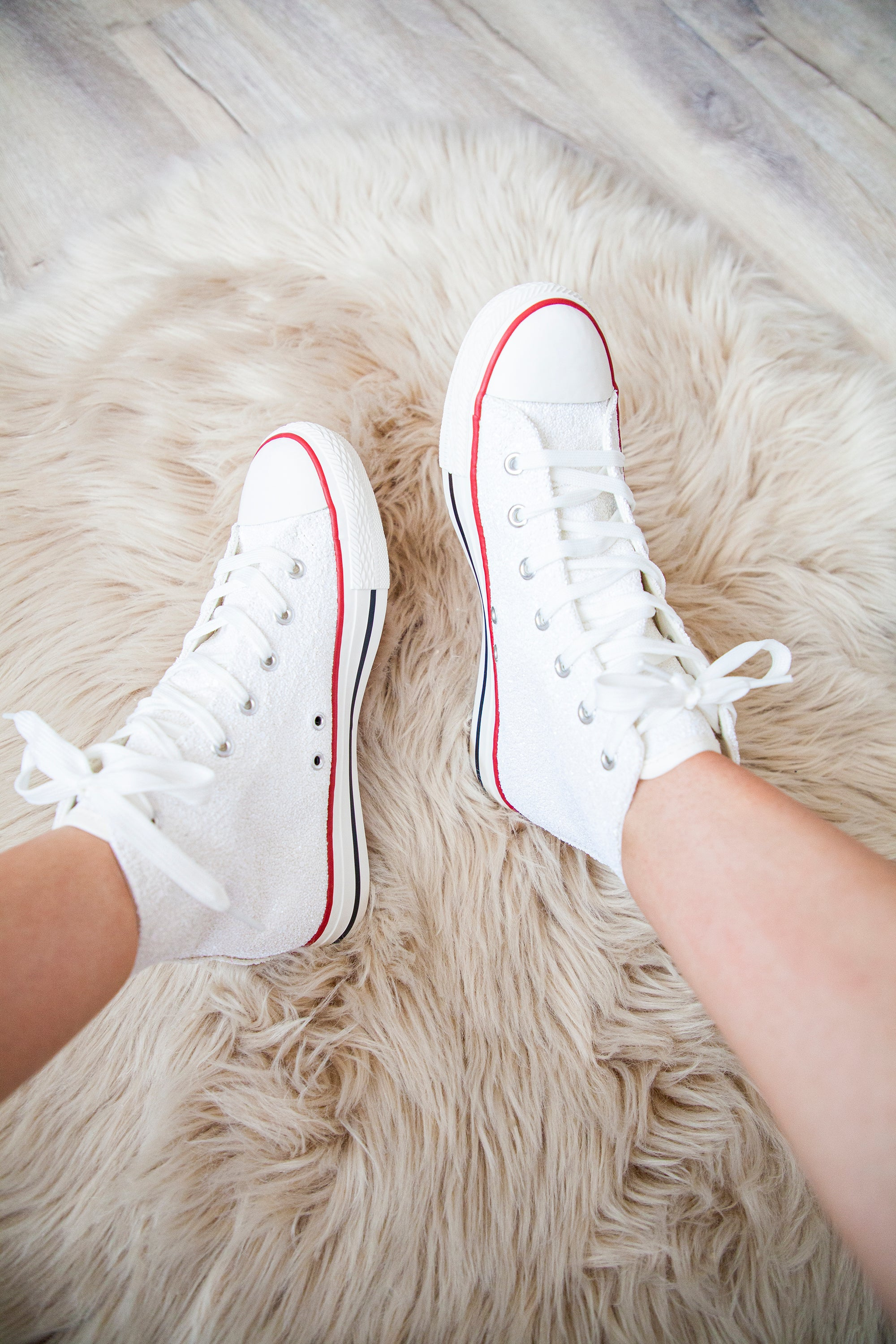 Walk & Shine White - Sneakers