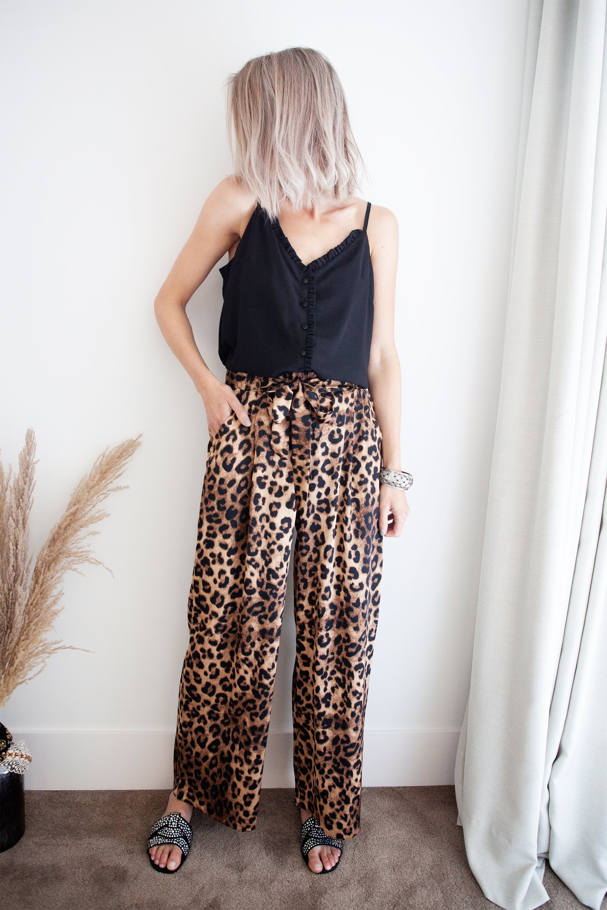 Wild World Leo & Camel - Broek
