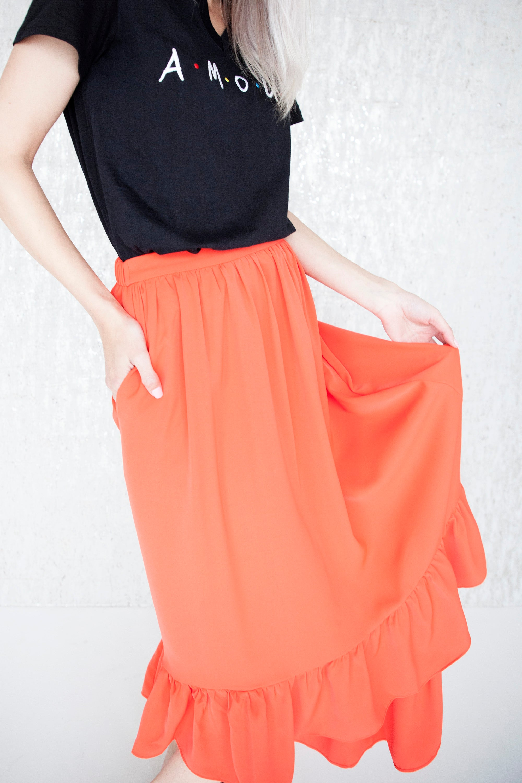 Lady In Red - Maxi Rok