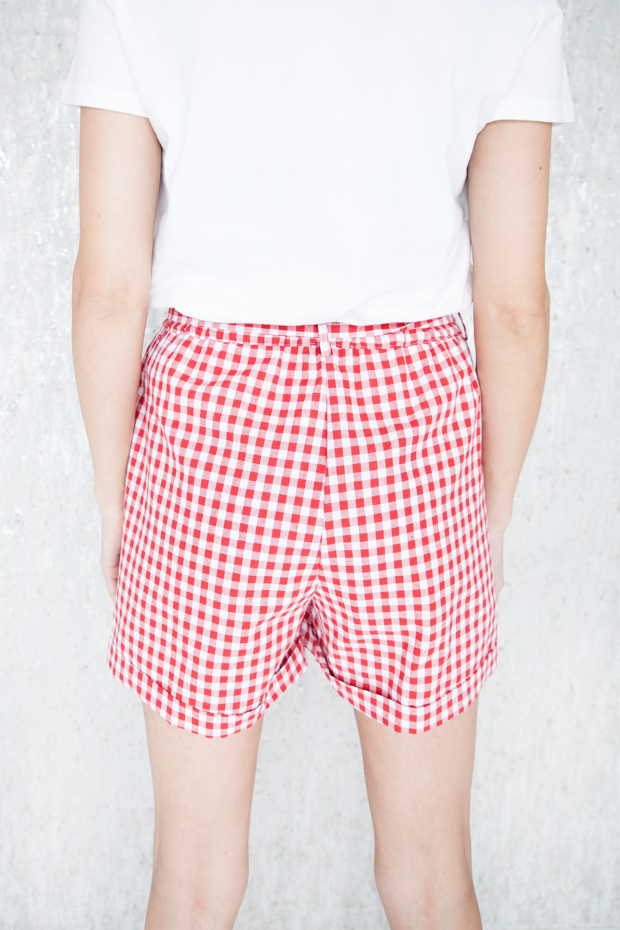 Block Party Red - Short