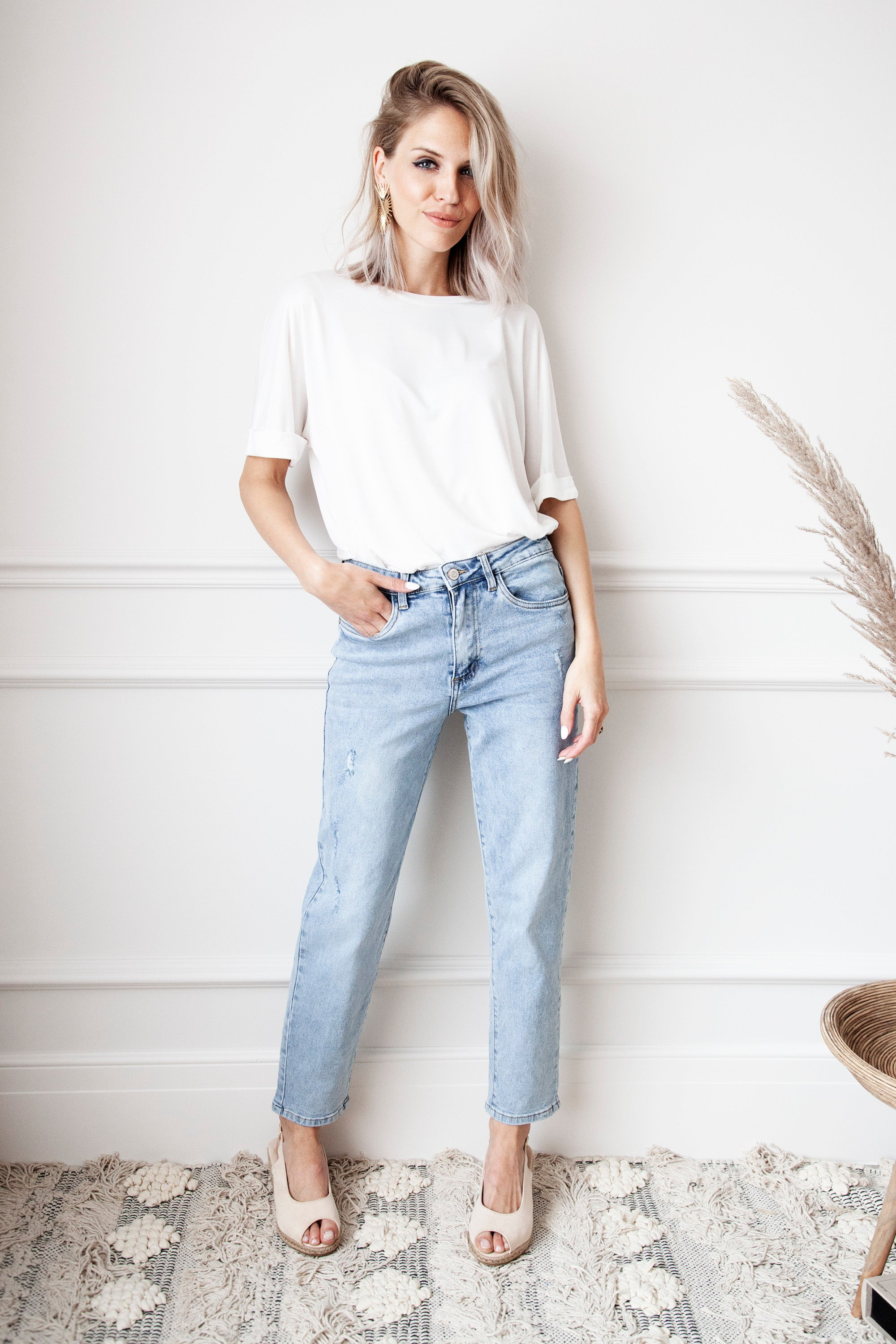 Casual Cool Blue - Jeans
