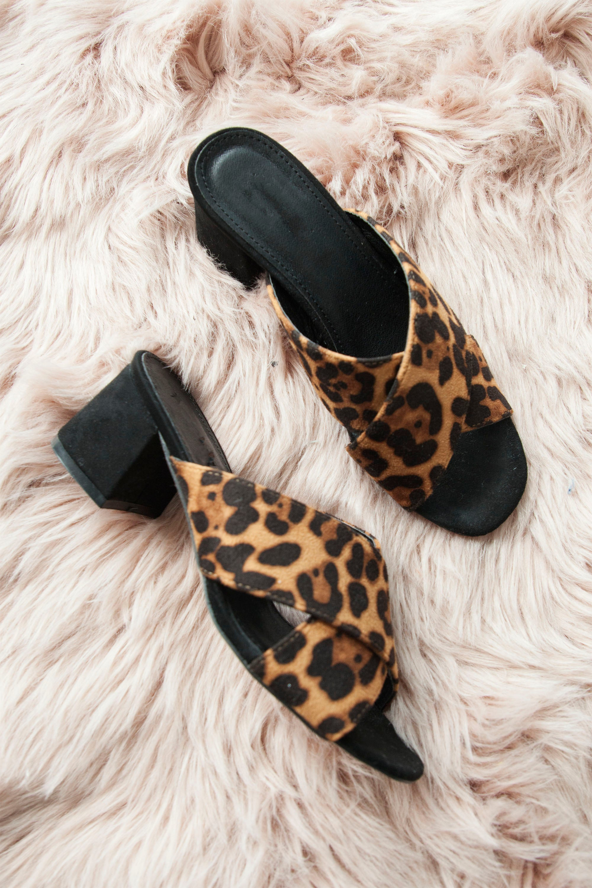 On My Way Leopard - Slip On