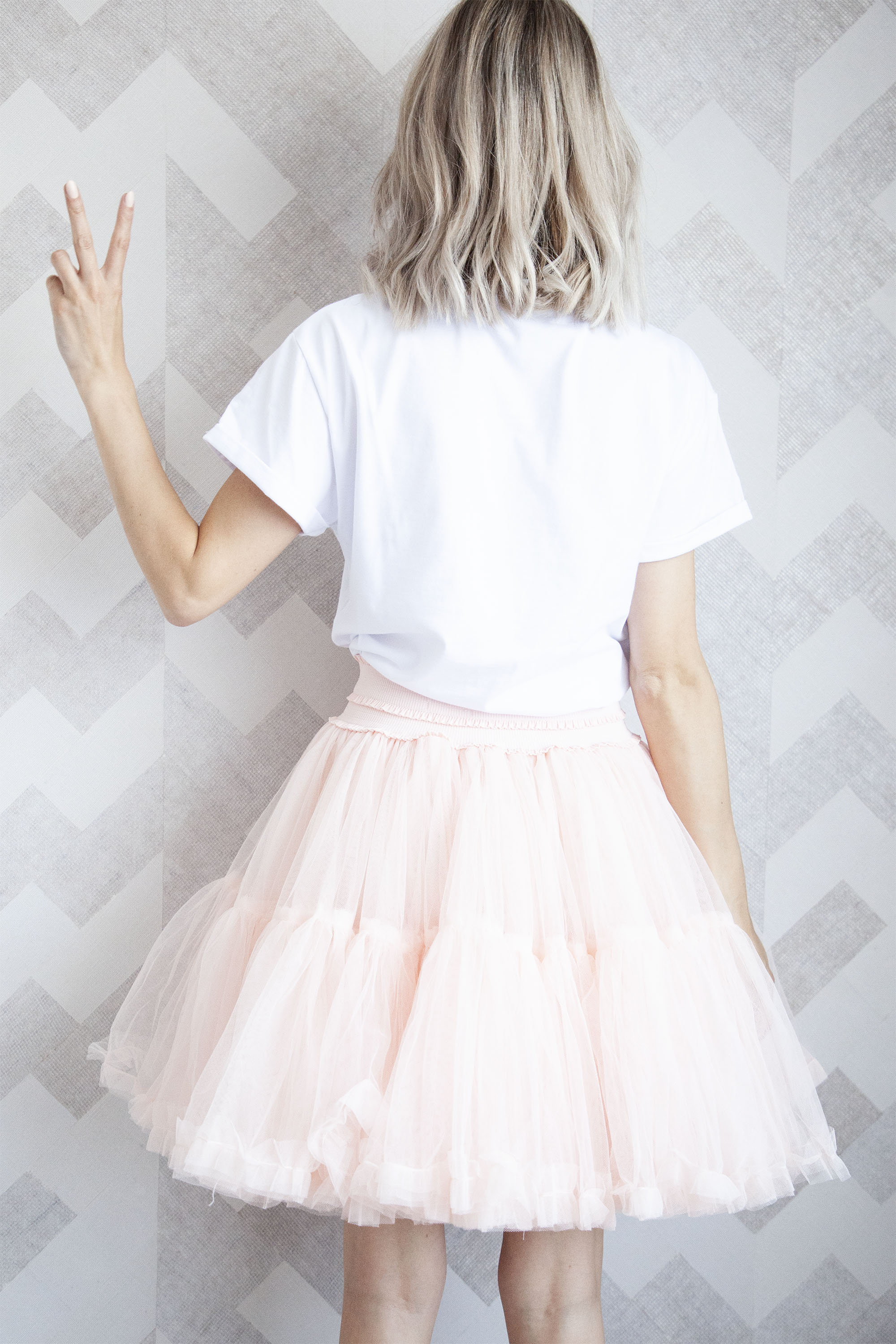 Follow Your Dreams Blush - Mini Rok
